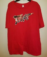 "Loot Crate Loot Gaming June 2016 Street Fighter V ""Fight"" Mens T Shirt Sz XL Red"