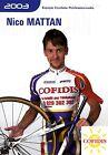CYCLISME carte cycliste NICO MATTAN équipe COFIDIS 2003