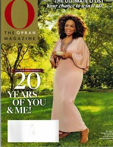 O The Oprah Magazine May 2020 IT'S OUR ANNIVERSARY! 20 YEARS OF YOU & ME!