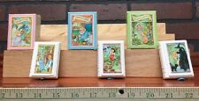 Avon 1984 Story Book Soap Cinderella ,Pinocchio, And Hensel & Gretel 282