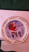 "Lenox 1995 International Victorian Santa's Plate Collection ""Santa Claus"" !!"