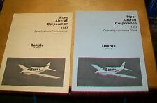 PIPER DAKOTA PA28 SPECIFICATIONS/PERFORMANCE & OPERATING ECONOMICS GUIDE 1983