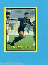 VALLARDI-CAMPIONISSIMI CALCIO EUROPEO 1988-Figurina n.93- VINCENZO SCIFO -Rec