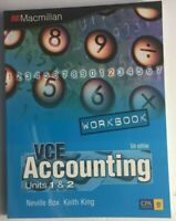 ACCOUNTING VCE Units 1 & 2 WORKBOOK 5th Edition 2011