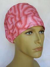 BRAIN SURGICAL SCRUB HAT THEATRE CAP HAT modified pixie CORD LOCK