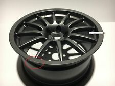 "RacingLine VWR 9J x 18"" ET35 5x112 Alloy Wheel Satin Graphite Grey Finish /damag"