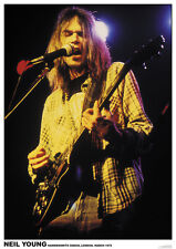 Neil Young HammersmithOdeon '76 Poster A1 Size 84.1cm x 59.4cm-33 inch x 24 inch