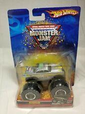 Hot Wheels Monster Jam Silver Avenger 1:64 Die Cast #21 (G2)