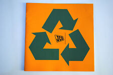 Original JCB Waste & Recycling Machines Promotion Brochure English Text