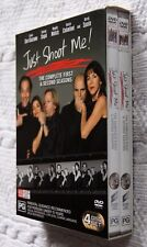 JUST SHOOT ME! THE COMPLETE 1ST AND 2ND SEASON (DVD, 4-DISC BOX SET) REGION-4