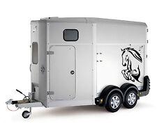 Tête de cheval Boîte Remorque de Voiture Camion Capot Sticker Autocollants grand lsh16