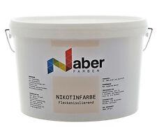 (6,00 €/L)  2,5 L - NIKOTINFARBE - Fleckenisolierend - RAL 1015 - HELLELFENBEIN
