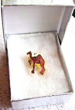 Alcoholics Anonymous Camel AA Lapel Hat Vest Pin NA Recovery Sobriety Sober