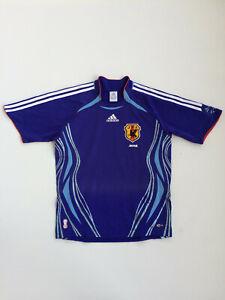 Original Adidas Japan Home 2006-08 Maglia Camisa Trikot Jersey Football Shirt S