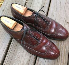 Florsheim, burgundy, short wing tip, 11.5C, 30353 in great condition.