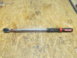 Craftsman CMMT99436 1/2 inch Drive Digital Torque Wrench ( LOT A18)