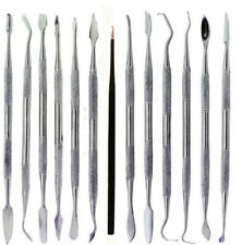13 Wax Carving Dental Spatula Polymer Clay Carver Tools