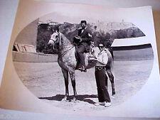 Arabian Horse Show 1960' Alberta Calgary Jeff Shaba Horse Ahabbi Photo