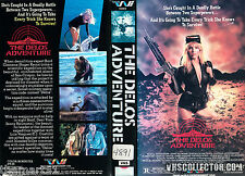 THE DELOS ADVENTURE (1989) VHS Playtime    ROGER KERN - JENNY NEUMANN