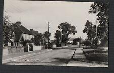 Tongham, Poyle Road - opp view  RP  postcard  Zd.311