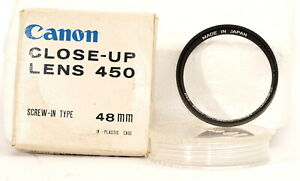 Canon 48mm Close-Up lens 450