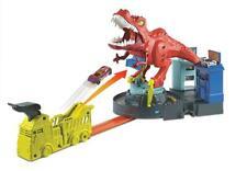 Mattel Hot Wheels GFH88 City T-Rex Attacke Dinosaurier Trackset OVP