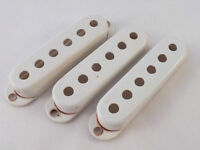 Relic AGED WHITE BAKELITE Pickup Covers 52mm to fit 1950s Stratocaster
