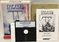 Top Fuel Eliminator Gamestar Commodore 64 Apple ll IBM PC 5-1/4 Inch Floppy Game
