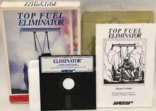 Top Fuel Eliminator Gamestar Commodore 64 Apple ll IBM PC 5-1/4 Inch Floppy Game