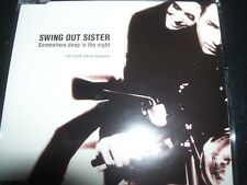 Swing Out Sister ‎– Somewhere Deep In The Night Promo Sampler CD – Like New