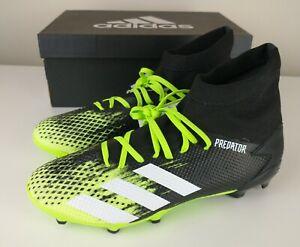 Adidas Predator 20.3 FG Firm Ground Green White Black Football Boots Size UK 8.5