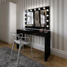 Hollywood Mirror nero lucido ILLUMINATO MODERNO SPECCHIO 80 x 110 cm