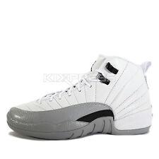 Nike Air Jordan 12 Retro GG [510815-108] Basketball Barons White/Black-Wolf Grey