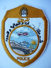 UNKNOWN ARABIC POLICE ARM PATCH 2