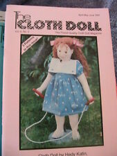 THE CLOTH DOLL 1991 Vol 8~No 2 cloth art doll patterns~techniqs~how to magazine