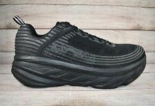 Hoka One One Bondi 6 Running Shoes Black Women's Size 9