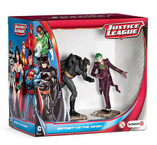 Justice League Figurine 2-Pack Batman vs. The Joker 10 cm Schleich Mini