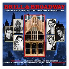 Brill & Broadway - 75 Hits From The Original Home Of Songwriting 3CD NEW/SEALED