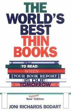 The World's Best Thin Books, Revised: What to Read When Your Book Report is Due