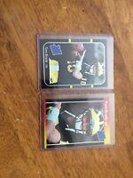 Tom Brady Rookie Aceo 2 Card Lot