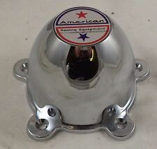 American Racing Wheels Chrome Custom Wheel Center Cap Caps # F112-09 / 898008