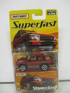Matchbox Superfast Land Rover Discovery
