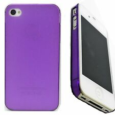 Fashion Phone Ultra Thin Matte Hard Cover Case Skin For Apple iPhone 4 4S 5 5S