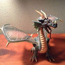 2003 Schleich Green Flying Dragon Knights Medieval Fantasy  70033 Wing B