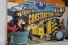 LIONEL O SCALE RTR CONSTUCTION ZONE TRAIN SET    #7-21902