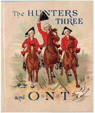 ADV BOOKLET 1880'S THE HUNTERS THREE AND O.N.T. CLARK'S SPOOL COTTON