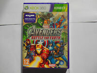 marvel the avengers battle for earth xbox360 xbox 360 neuf sous blister vf