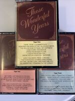 Those Wonderful Years Heartland Music (3 Cassette Tapes)