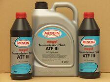 5,41€/l Meguin Megol Transmission Fluid ATF III rot 7 L Automatikgetriebeöl