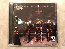 Quake III Arena ( Sega Dreamcast ), Complete w/Case & Manual